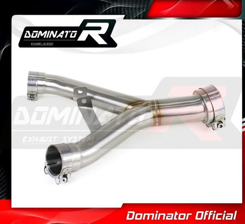 KAWASAKI Z1000 EXHAUST DECATALIZER DECAT 2014 - 2016 BY DOMINATOR