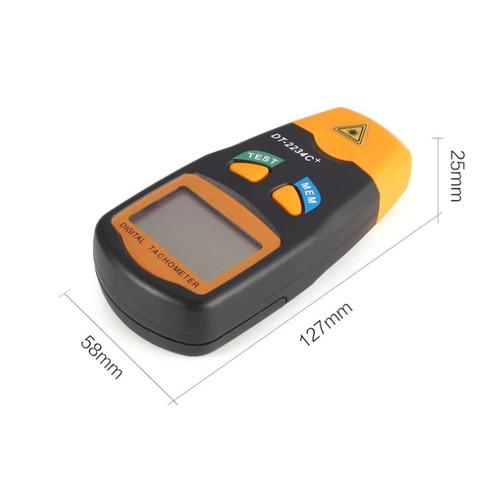 Handheld LCD Digital Mini Non-contact Laser Photo Tachometer RPM Speed Measurement Meter Speedometer 2.5~99999RPM