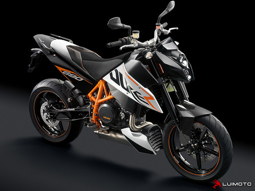 KTM 690 DUKE 2008-2011 R SEAT COVERS  BY LUIMOTO