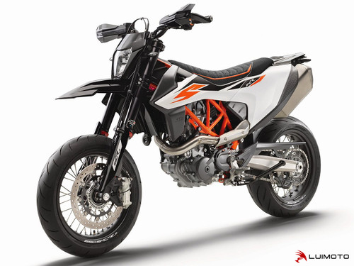 KTM 690 SMC-R 2019-2020 R SEAT COVERS  BY LUIMOTO