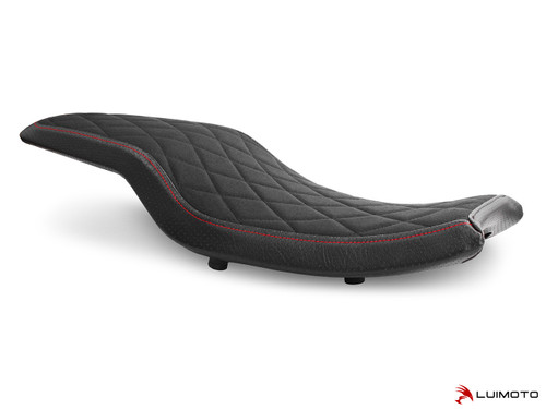 INDIAN FTR 1200 2019-2020 DIAMOND TRACKER RIDER SEAT COVERS  BY LUIMOTO