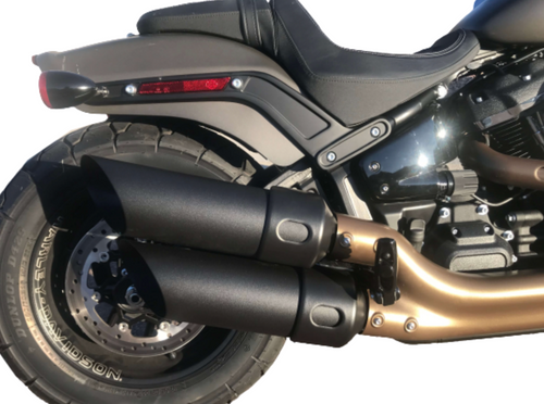 TAB PERFORMANCE FITS HARLEY DAVIDSON SOFTAIL  2018-UP FAT BOB EXHAUST PIPES