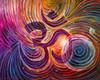 Sacred Om Energy Painting - Giclee Print