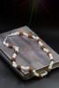 "Sacred Rudraksha Goddess Necklace  - Clear Quartz And ""Goddess"" Seed."
