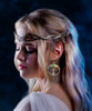 Tree Of Life 7 Chakra Energy Healing Earrings - Silver - Guaranteed Authentic Gems