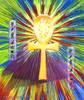 Sacred Ankh Life-Force Energy Painting -  Giclee Print