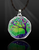 "Tree Of Joy And Happiness Energy Pendant  From the ""New Bohemian"" Collection"