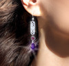"""""""Discover Your Truth"""" Energy Earrings - Facilitate your journey of self discovery."""