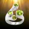 Stone Of Ra - Peridot Ring Of Vitality. Magic from ancient Egypt.