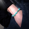 Sacred Turquoise Healing And Protection Bracelet - Women's - Guaranteed authentic stone
