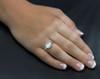 Cat's Eye Moonstone Traveler's Protection Ring