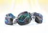 Rainbow Abalone Shield Of Protection & Comfort Bracelet - With Sacred Geometry Nautilus Beads