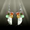 """The 8 Gem """"All Energies"""" Healing Earrings"""