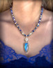 The Northern Lights Necklace  - Amplifies all your spiritual abilities.  Rare blue fire labradorite and lapis.