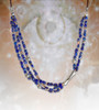 Lapis Visionary Seer's Energy Necklace With Sunstone - The only one that guarantees visions.*