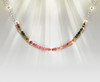 The Clear Focus Necklace - Mind Focusing Watermelon Tourmaline And Silver