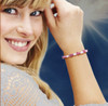 The Emotional Healing Bracelet - Pink tourmaline and moonstone combination helps you identify the true source of your emotional pain and heal it.