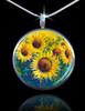 Sunflower Life-Joy Energy Pendant - Feel happy today