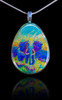 Indigo Elephant Energy Pendant - Remover of life's obstacles.