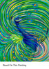 Peacock Energy Pendant - Beauty.  Foresight. Clairvoyance.