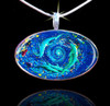 Dolphin Vortex - The Healing World Pendant