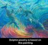 Dolphin Healing Energy Earrings