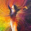 Beautiful As You Are - Positive Body Image Painting - Giclee Print