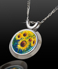 Sunflower Life Magical Energy Pendant - From The Magical Chi Collection *