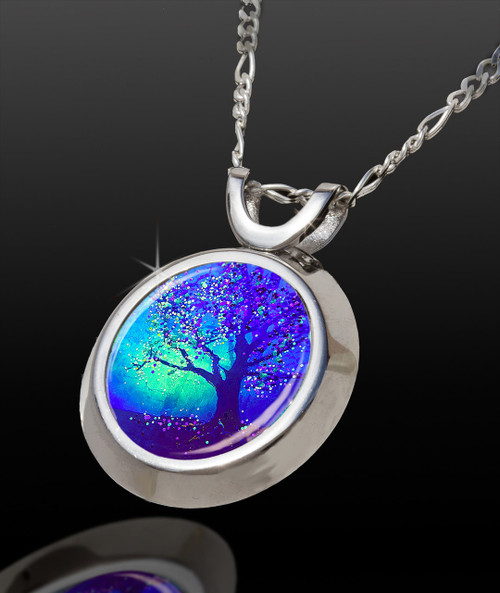 Firefly Tree Magical Energy Pendant - From The Magical Chi Collection *