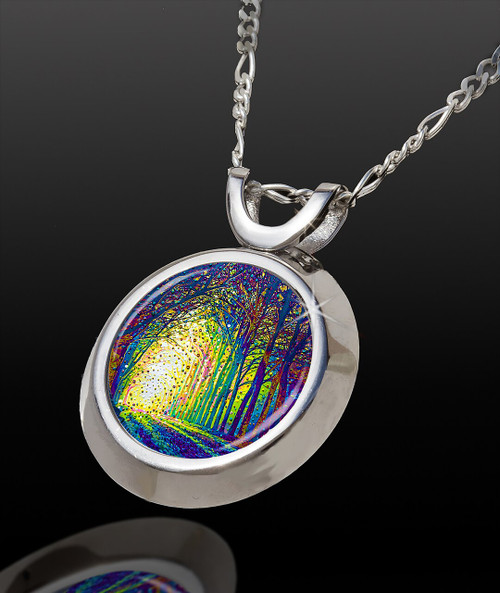 Cathedral Of Light Magical Energy Pendant - From The Magical Chi Collection *