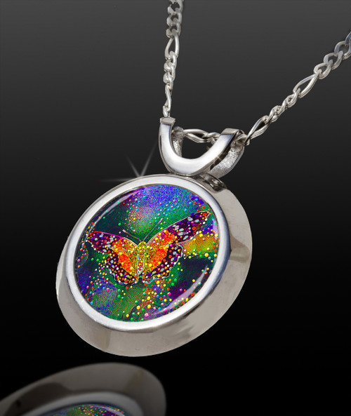 Butterfly Transformation Magical Energy Pendant - From The Magical Chi Collection *