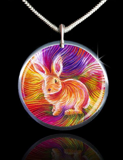 Bunny Love Energy Pendant