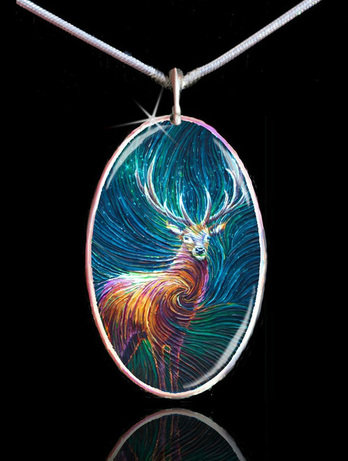 Red Stag Energy Pendant