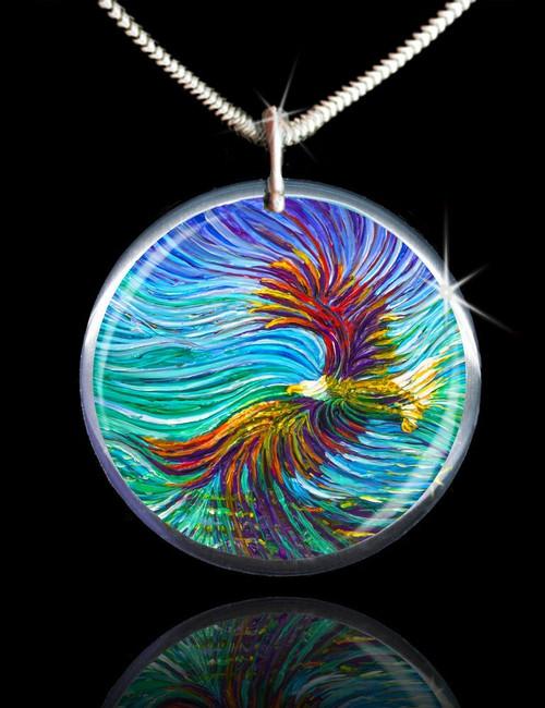 Spirit Eagle Energy Pendant