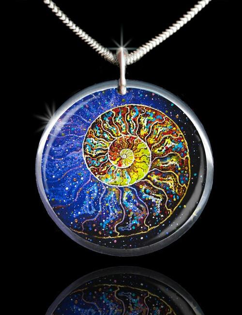 Sacred Nautilus Energy Pendant