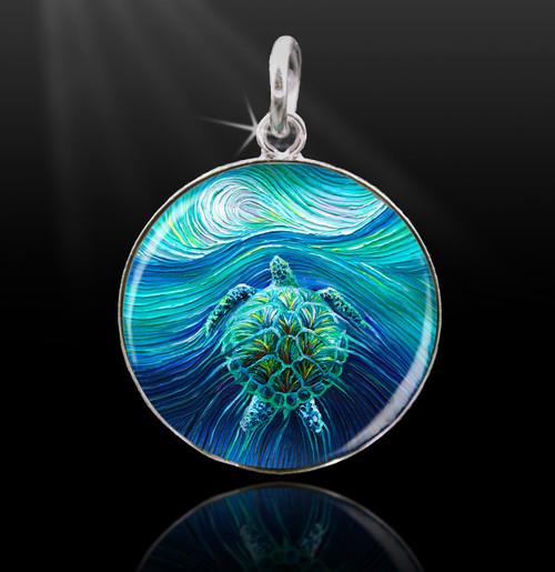 Turtle Spirit Energy Charm