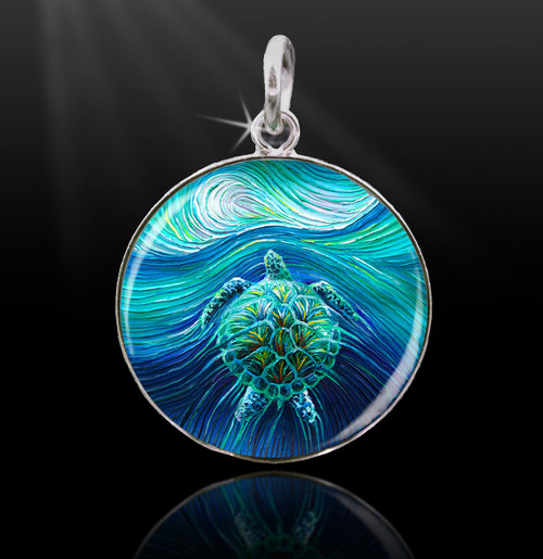 Turtle Spirit Energy Charm