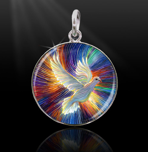 The Dove Of Hope Energy Charm