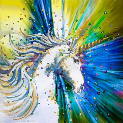 Unicorn Magic Energy Painting - Giclee Print
