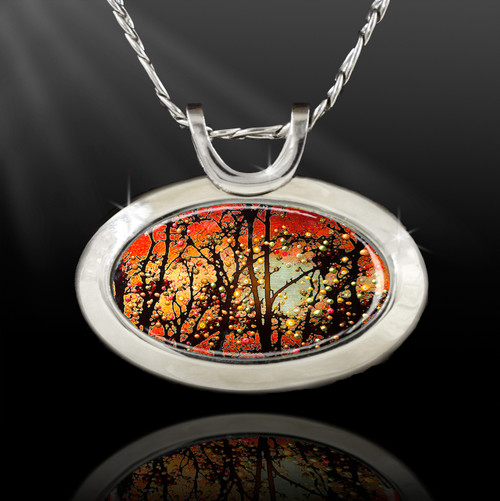 Winter Solstice Good Luck Blessing Energy Pendant  From the Magic Chi Collection