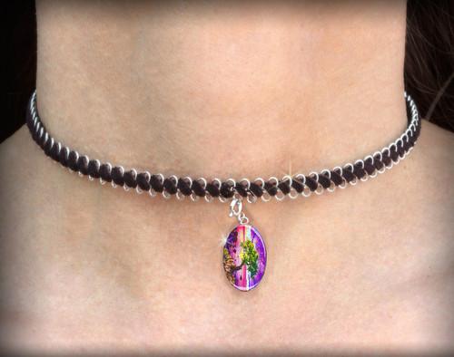 The Forgiveness  Tree - Energy Charm Necklace - Choker