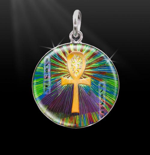 Sacred Ankh Life-Force Energy Charm