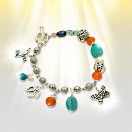 Forever Summer Joy And Abundance Charm Bracelet