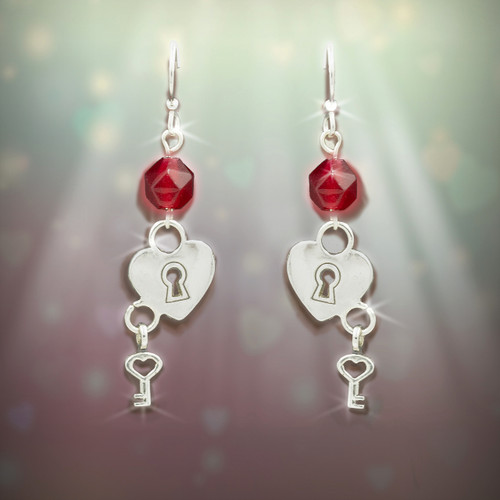 "The ""Key To Your Heart"" Soulmate Earrings"