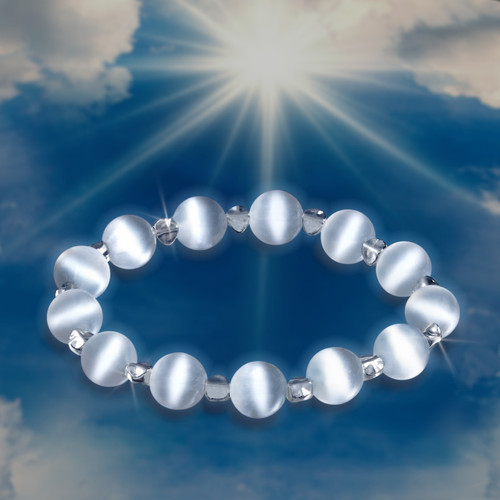 """Talk To Angels - The Soul Star Chakra """"Angel Communicator"""" Bracelet - Guaranteed  they'll talk to you.*"""