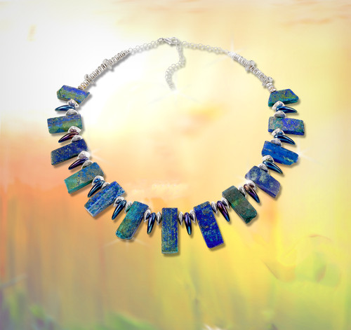 """The Tribal """"Fairy Attractor"""" Necklace -  We discovered on security cam that these stones attract fairies and bring you good luck."""