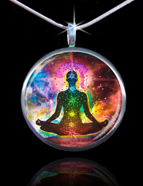 Chakra Healing Energy Pendant