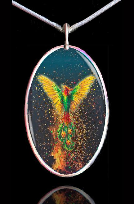 Phoenix Rising Energy Pendant