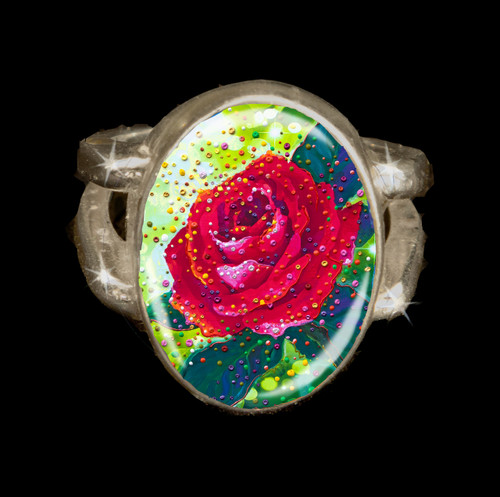 The Sacred Rose Energy Ring