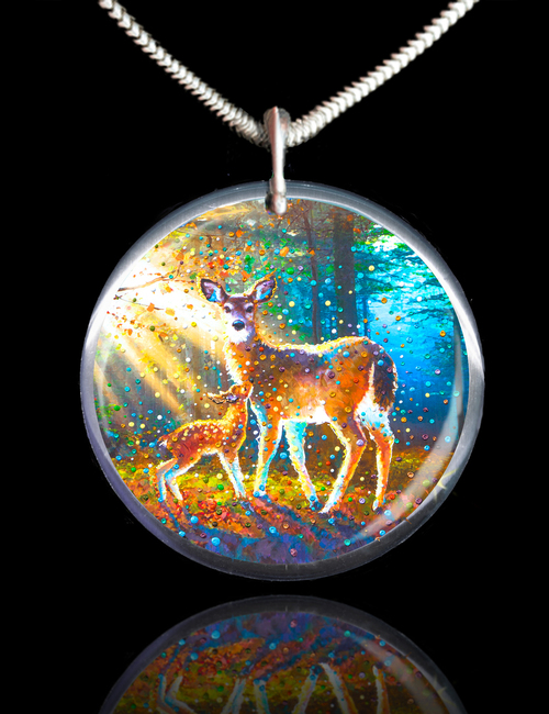 Deer Spirit Energy Pendant